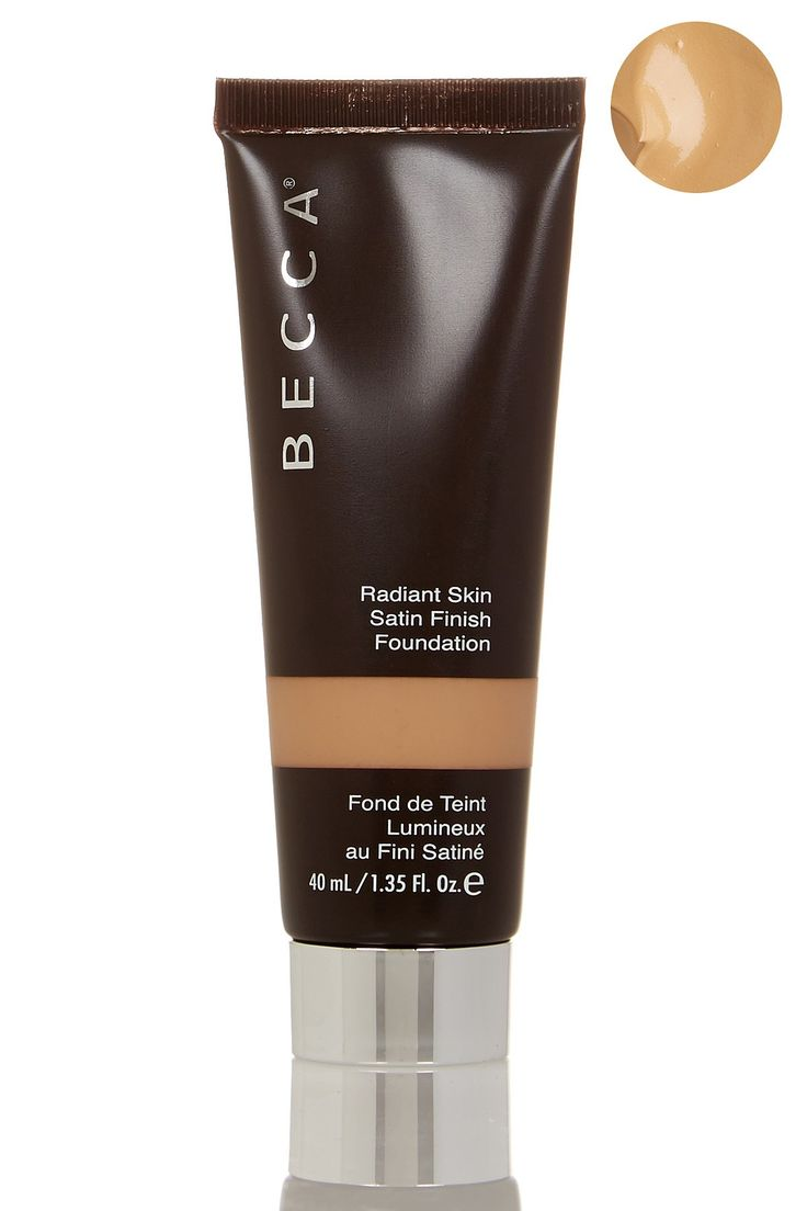 This BECCA Cosmetics Radiant Skin Satin Finish Foundation leaves the smoothest coverage!