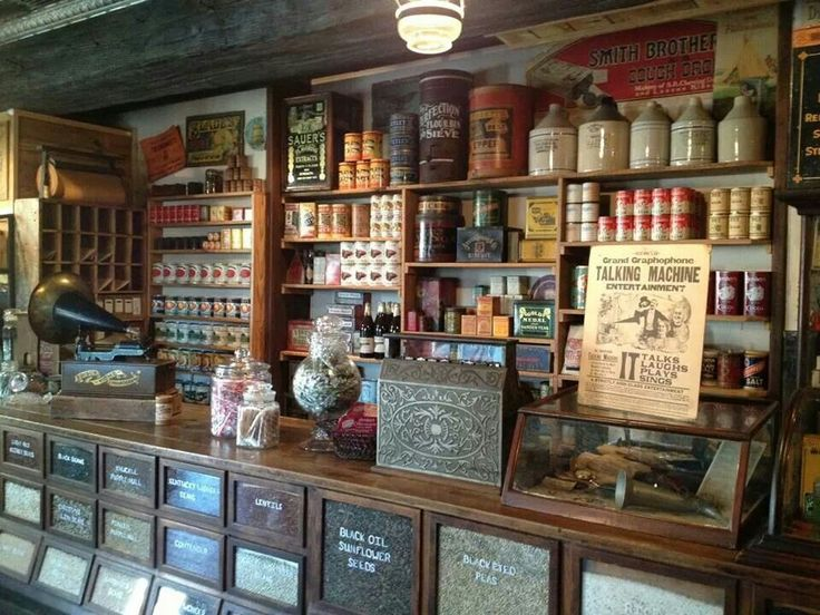 241 best images about old general store on pinterest the old counter display and general store. Black Bedroom Furniture Sets. Home Design Ideas