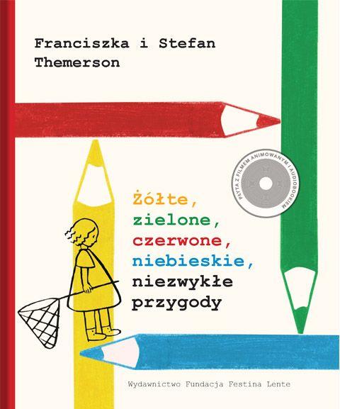 Żółte, zielone, czerwone, niebieskie, niezwykłe przygody, Stefan Themerson, wyd. Festina Lente - MOCAK