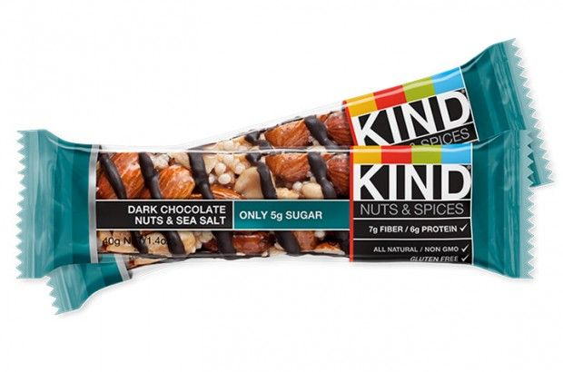 SELF-Approved Snacks | Fitness Bars: Kind Dark Chocolate Nuts & Sea Salt. With 7 g of fiber and 6 g of protein, it's a perfect post-workout refuel.