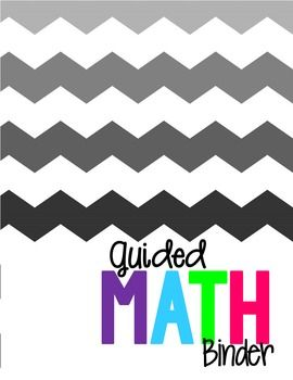 This guided math binder contains the following items to keep your guided math block running smoothly for you all year long! Binder Covers Binder Spines Guided Math Concepts- Big Ideas/Skills Blooms Taxonomy Verbs for Each Math Concept (editable) Student Data Sheets (editable) Record Book for
