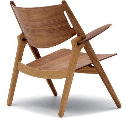 ch28 easy chair designed Hans Wegner, Hive Modern