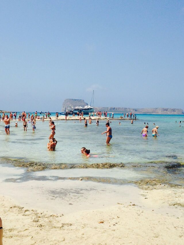 Crete, Balos lagoon