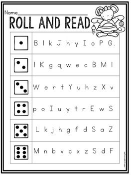 Grab this Christmas themed no prep printable for free.  Your students will love practicing letter naming fluency with this fun roll and read!Have a fabulous holiday!Amy
