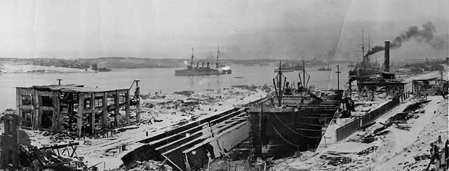 View of Halifax after explosion, looking south. (item 1)