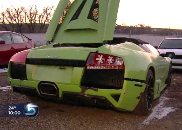 Best Luxury Car Wrecks Images On Pinterest Car Crash