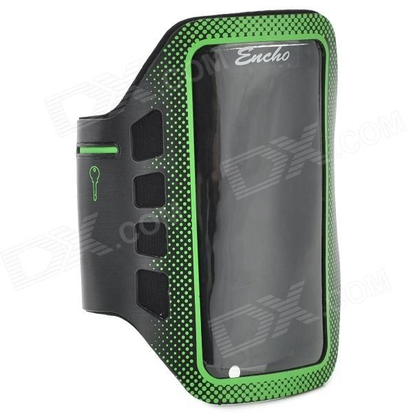 nice Convenient Stylish Neoprene + PVC Velcro Armband for IPHONE 5 / 5S / 5C - Green + Black Check more at https://www.zio5.com/convenient-stylish-neoprene-pvc-velcro-armband-for-iphone-5-5s-5c-green-black/