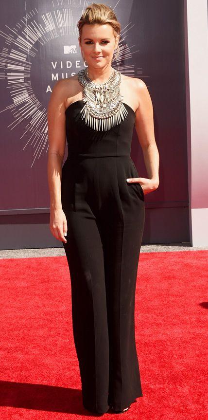 Video Music Awards 2014 Red Carpet Arrivals - Ali Fedotowsky - wearing Mariam Seddiq #mariamseddiq @Mariam Seddiq www.mariamseddiq.com