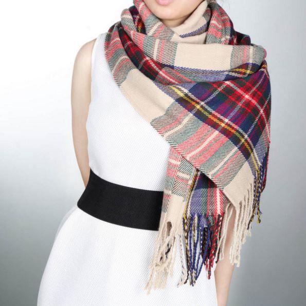Cashmere Silk Scarf - Threads, repeats by VIDA VIDA