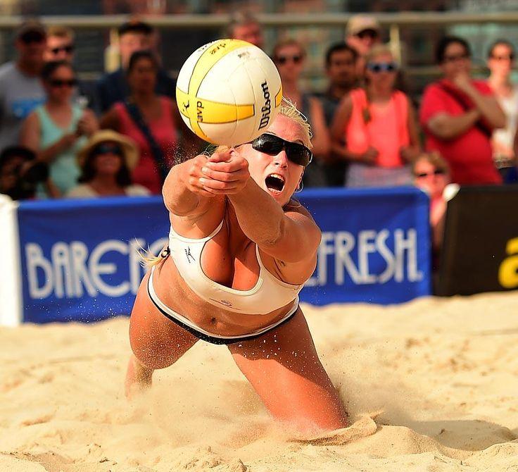 Beach Volleyball AVP Kingston New York City Open Beach