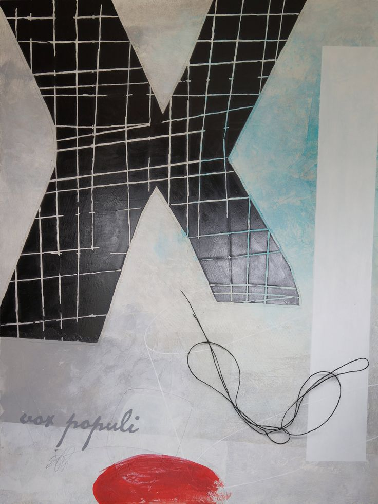 Vox Populi by Victoria Primicias (Acrylic Painting) | Artful Home