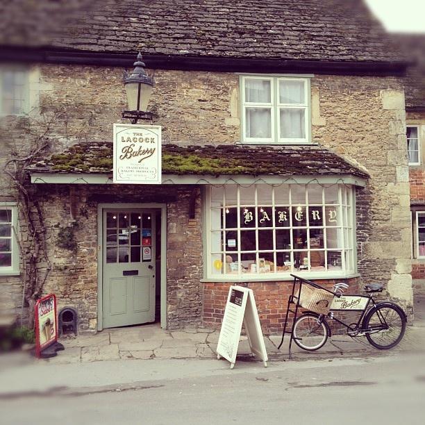 Lacock Bakery- oh nostalgia!