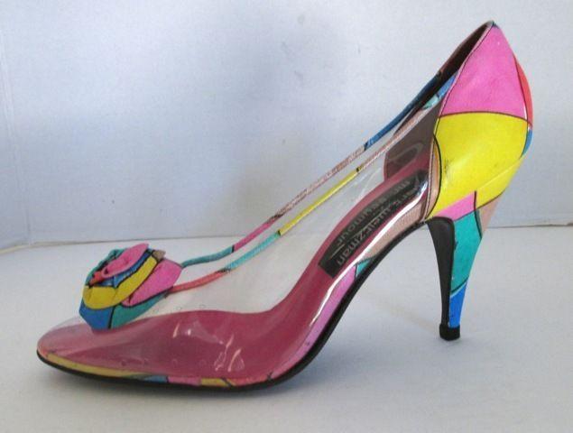 Plastic Heels Shoes
