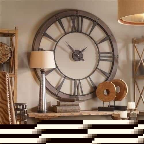 Pin By Cesar Mancilla On Relojes Despertadores Large Metal Wall Clock Big Wall Clocks Oversized Wall Clock