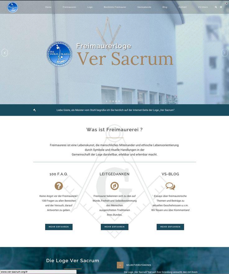 http://www.ver-sacrum.org/  | sekretariat@ver-sacrum.org | Freimaurerloge Ver Sacrum i.O. Köln | Hardefuststr. 9 | 50677 Köln
