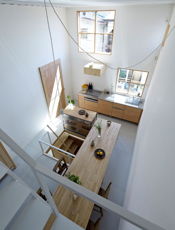 A CLEVER DESIGNED HOME IN JAPAN   THE STYLE FILES