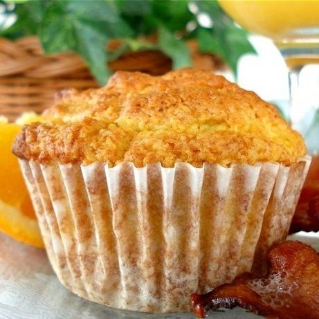 Fresh Orange Muffins - so tasty and so easy. I don't like my muffins too sweet so i used half a cup of raw sugar (all I had in the house) and substituted rice bran oil for the butter (again all I had on hand). I used a magic bullet to blend the raw ingredients and then hand mixed them together with a balloon whisk. My toddler LOVED these!