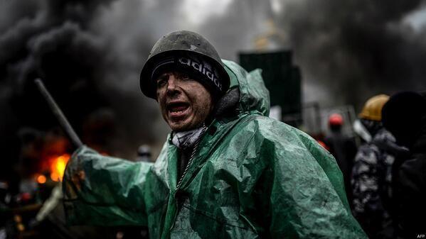 Ukrania, feb 2014.