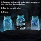 well it's not bioluminescence, but it could have the effect!