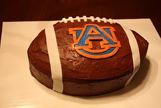 Auburn cake for Jeremy. ROll Tide!!
