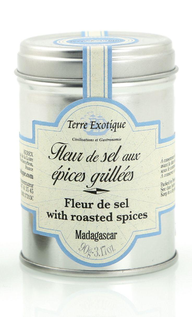 TERRE EXOTIQUE : Fleur de sel aux Épices Grillées