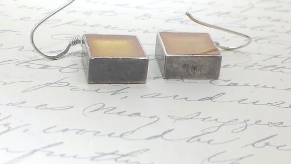 Handcrafted Vintage Victoria Varga Sterling Earrings French