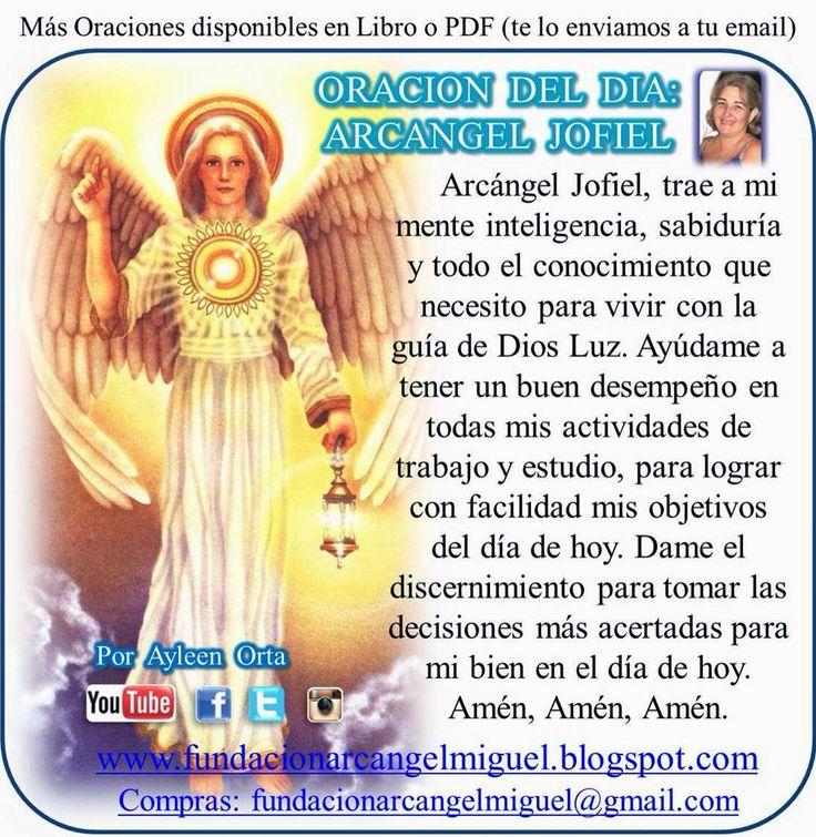 Oración del arcángel jofiel