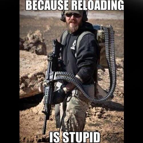 Reloading is stupid