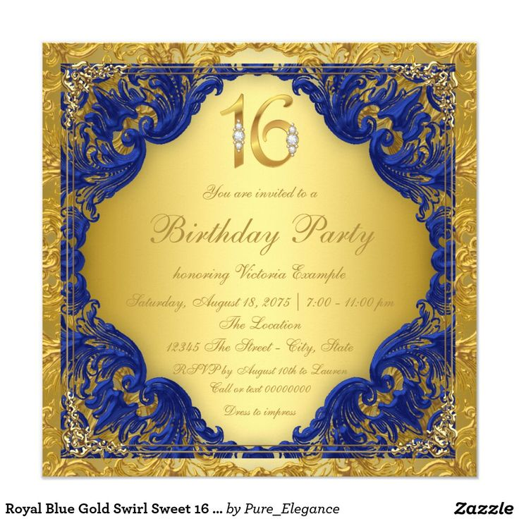 168 best Sweet Sixteen Invitations Ideas images on Pinterest Sweet