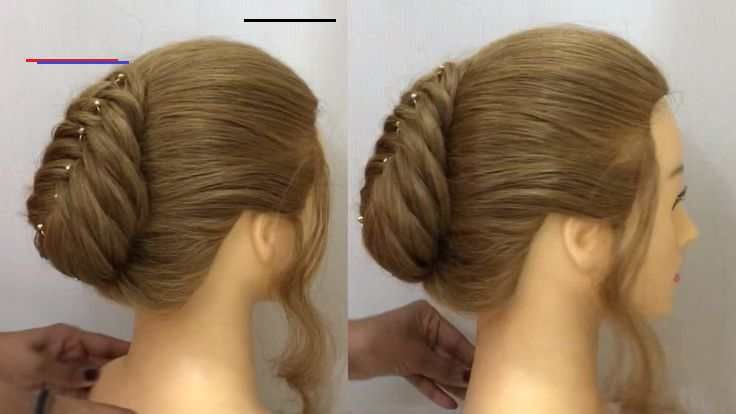 Very Easy French Roll Hairstyle For Thin Hair French Bun Hairstyles 2020 Very Easy French Roll Hairstyle For Thin Hair En 2020 Astuces De Coiffure Coiffure Chignon
