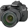 "EOS 60D 18MP Digital Camera with and 3"" LCD      Image resolution 4000 x 6000  (18-135mm) with optical image stabilizer  5.3 fps Continuous Shooting  Auto, Red-eye Reduction, Auto Red-eye Correction, Flash On, Flash Off; FE lock, Slow Synchro, Smart Flash  CCD image sensor and DIGIC 4 image processor  Works with all Canon EF and EF-S Lenses  Improvements to movie modes  ISO 6400 - expandable to 12800  Uses SD™/SDHC™/SDXC/MMC/MMCplus and HC MMCplus"