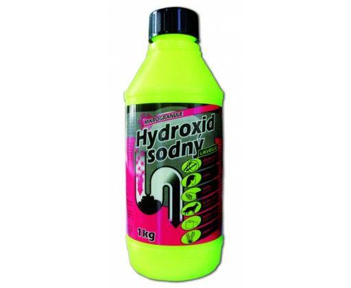 Hydroxid sodný mikrogranule na odpad   Ageo.cz