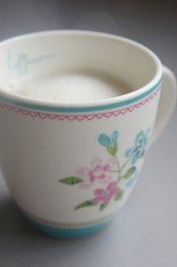 Warme anijsmelk zonder melk en soja