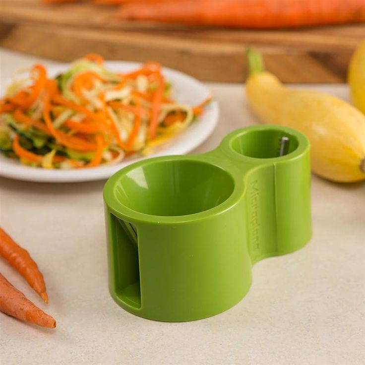 Great for folks on a gluten-free diet, this spiral cutter makes slicing vegetables for noodles simple and quick. At Lehmans.com.