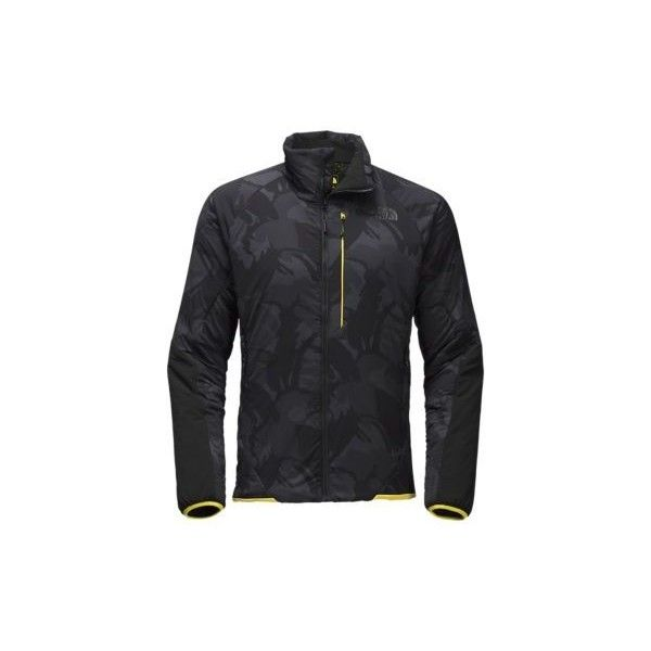 The North Face Men's Ventrix Jacket ($199) ❤ liked on Polyvore featuring men's fashion, men's clothing, men's outerwear, men's jackets, mens insulated jackets, mens jackets, the north face mens jackets and mens perforated leather jacket