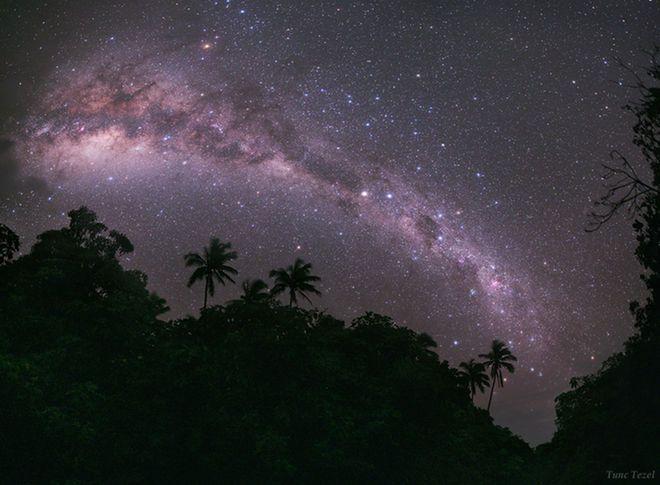Milky Way Skyscape over Mangaia