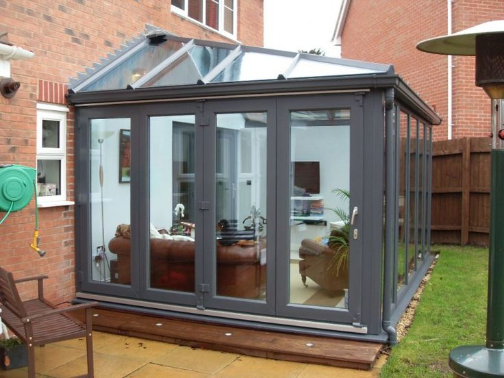 Interesting Sunrooms With Bi Fold Doors Folding See More Conservatories Google Search And Decorating Ideas