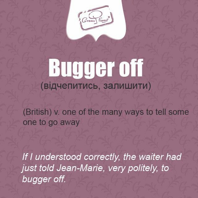 what does the word bugger mean