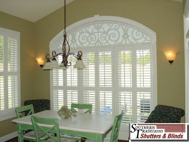 Half Circle Window, Blinds For Arched Windows And
