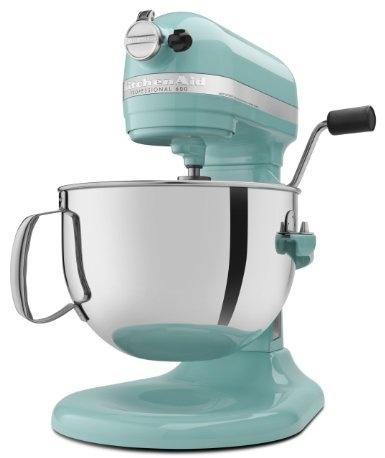 Amazon.com: Kitchenaid 600 STAND MIXER 6 Quart KP26M1XAQ Martha Stewart  Aqua Sky Color