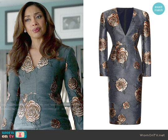 36d2c31426ad59 Jessica s floral dress on Suits