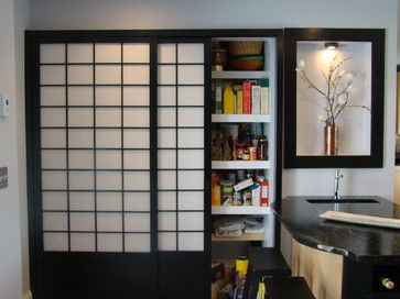 Ideal Asian Home Shaker style sliding closet doors Design Ideas Pictures Remodel and Decor