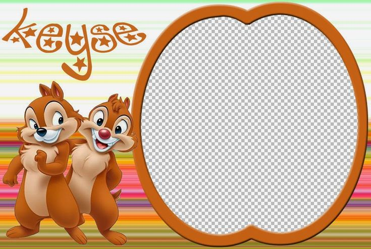 Chip ´n Dale Free Printable Invitations, Labels, Toppers or Cards.