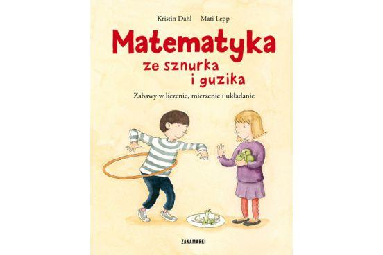 """Kristin Dahl """"Matematyka ze sznurka i guzika"""" Liczenie to jedna z ulubionych zabaw przedszkolaków. Warto pielęgnować w nich ten entuzjazm i przekonanie, że matematyka to dobra zabawa!  Matematyka towarzyszy nam na każdym kroku – podczas zakupów, gotowania, gry w karty czy nawet sprzątania. Przy czym matematyka to nie tylko liczenie, to również pewien sposób myślenia, porządkowania i opisywania rzeczywistości. http://pulcino.pl/pl/zaczytani/546-kristin-dahl-matematyka-ze-sznurka-i-guzika.html"""