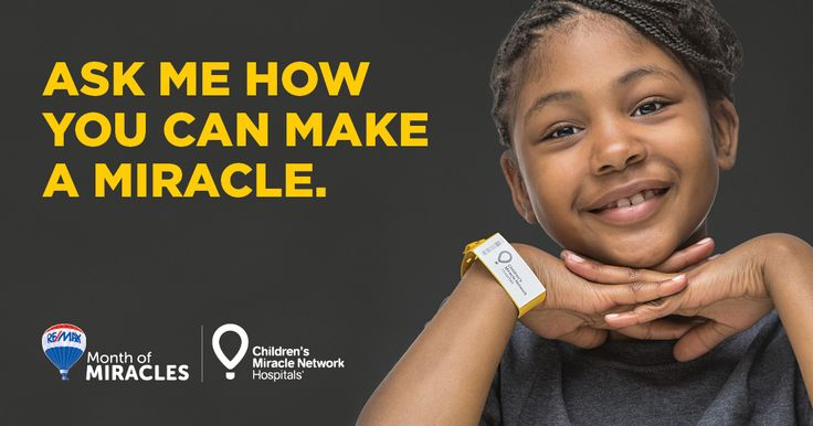 RE/MAX is celebrating Month of Miracles this August! Help out your local #CMNHospital by asking a RE/MAX agent how... #remax #monthofmiracles