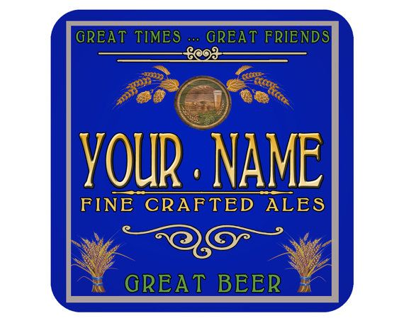 Custom Personalized Coasters $12.99 Free Shipping Click Now to request a sample with your name emailed to you for free