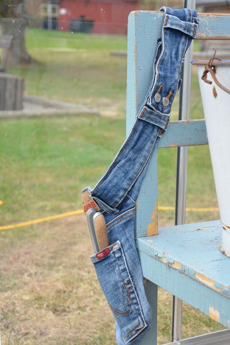 Återbruka jeans ~ Diagnos:Kreativ #remake #demin #diy