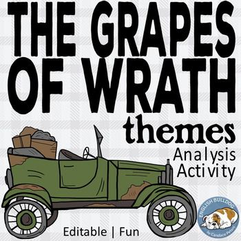 exploring the main themes in the grapes of wrath English novel the grapes of wrath the grapes of wrath author: john steinbeck published: 1939 table of contents so what summary chapter-by-chapter characters key themes & symbols theme: some is better than one.