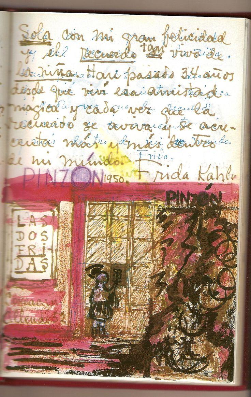 Frida Kahlo's sketchbook / diary