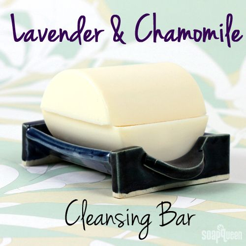 Lavender & Chamomile Cleansing Bar for Dry Skin